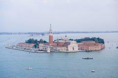 Palast auf der Insel Stockbild