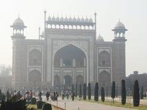 Palast bei Taj Mahal Stockfotos