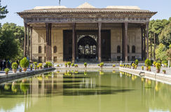 Palast Chehel Sotoun Lizenzfreie Stockfotografie