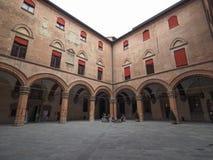 Palast D Accursio (Rathaus) im Bologna Lizenzfreie Stockfotos