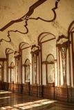 Palast der Belvedere stockfotos