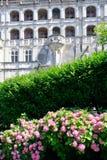 Palast in der Blois Stadt, Frankreich Stockbilder