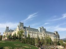 Palast der Kultur in Iasi, Rumänien Lizenzfreies Stockfoto