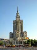 Palast der Kultur und der Wissenschaft Lizenzfreie Stockfotografie