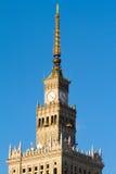 Palast der Kultur und der Wissenschaft, Warschau Stockfotos