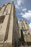 Palast der Päpste. Lizenzfreie Stockfotografie