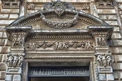 Palast der Provinz in Lecce Stockfotografie