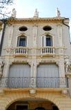 Palast in der Straße Tati in Padua in Venetien (Italien) Stockbilder