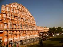 Palast der Winde oder der Hawa Mahals, Jaipur Stockfoto