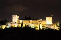 Palast des Alhambras in Granada Lizenzfreies Stockfoto