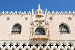 Palast des Doges in Venedig, Italien stockbild