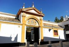 Palast des Duenas in Sevilla, Spanien Stockbilder