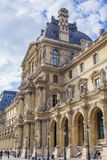 Palast des Louvre Stockfotos