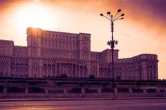 Palast des Parlaments Stockbild