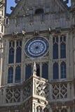 Palast Fassadeod-Westminster Lizenzfreie Stockbilder