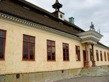 Palast im Skansen Park Stockfotos
