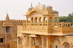 Palast in Jaisalmer Stockbilder