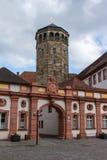 Palast-Kirche und Turm in Bayreuth, Deutschland, 2015 Stockfoto