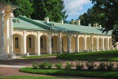Palast-Kolonnade stockfoto