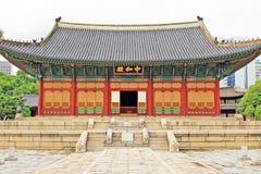 Palast Koreas Deoksugung Lizenzfreie Stockfotos