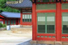 Palast Koreas Deoksugung Stockbilder
