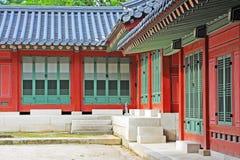 Palast Koreas Deoksugung Stockfotografie