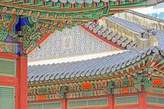 Palast Koreas Deoksugung Lizenzfreie Stockfotografie