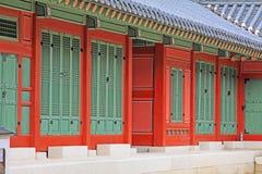Palast Koreas Deoksugung Lizenzfreies Stockfoto