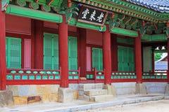 Palast Koreas Hwaseong Haenggung Stockfotografie