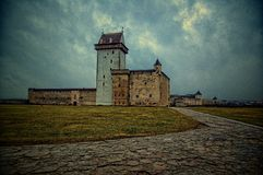 Palast in Narva, Estland Lizenzfreie Stockfotos