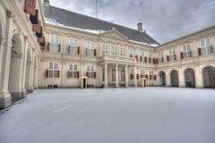 Palast Noordeinde in Den Haag Stockfotografie