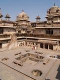 Palast in Orcha, Madhya Pradesh Lizenzfreies Stockbild