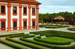 Palast-Park Stockbild