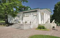 Palast-Pavillon 1825 in Kolomenskoye stockbilder