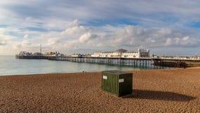 Palast-Pier, Brighton, Ost-Sussex, Großbritannien lizenzfreies stockfoto