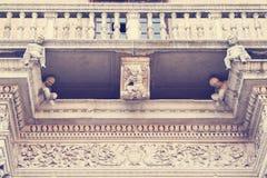 Palast Prosperi Sacrati Ferrara, Italien stockfotos