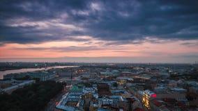 Palast-Quadrat, die Admiralität, Neva River stock footage