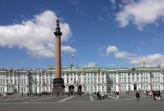 Palast-Quadrat, St Petersburg Stockfotos