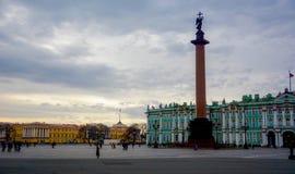 Palast-Quadrat in St Petersburg Stockbilder