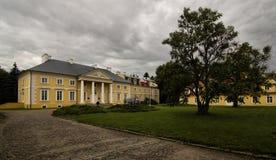 Palast in Racot stockbilder