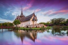 Palast Sanphet Prasat, alte Stadt Lizenzfreies Stockbild