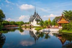 Palast Sanphet Prasat, alte Stadt, Bangkok Stockfoto