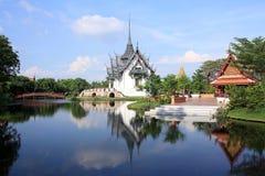 Palast Sanphet Prasat, alte Stadt, Bangkok, thailändisch Lizenzfreie Stockbilder