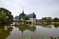 Palast Sanphet Prasat, alte Stadt, Bangkok, Thailand Lizenzfreie Stockfotografie