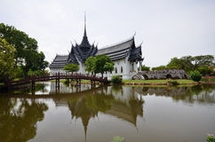 Palast Sanphet Prasat, alte Stadt, Bangkok, Thailand Lizenzfreies Stockfoto