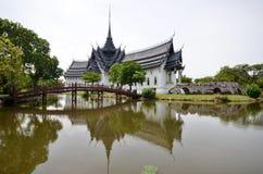Palast Sanphet Prasat, alte Stadt, Bangkok, Thailand Lizenzfreies Stockbild
