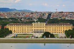 Palast Schloss Schoenbrunn Stockfoto