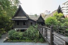 Palast Suan Pakkad in Bangkok Stockfotografie