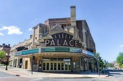 Palast-Theater, Albanien, New York Stockbilder
