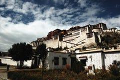 Palast Tibet-Potala Stockfotografie